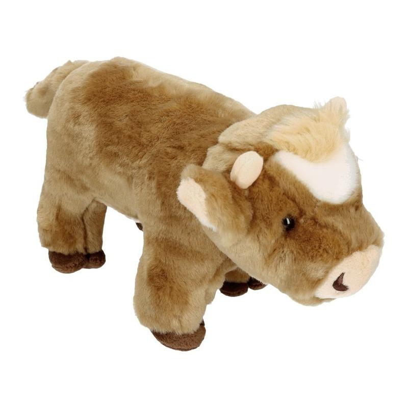 3bac70f550c0d4 Pluche koe bruin 30 cm bij Speelgoed voordeel, altijd de voordeligste